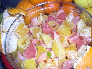 Insalata di arancia alla siciliana