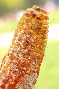 Grilled corn goodness
